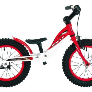 MONTY Pushbike 202 Rød-0
