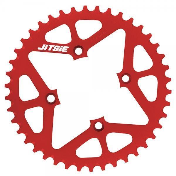 JITSIE Bagkædehjul Rød-0