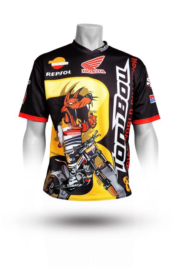 S3 T-shirt - Toni Bou 8 - 100% polyester-4391