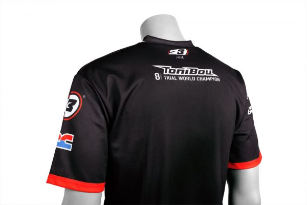 S3 T-shirt - Toni Bou 8 - 100% polyester-4392