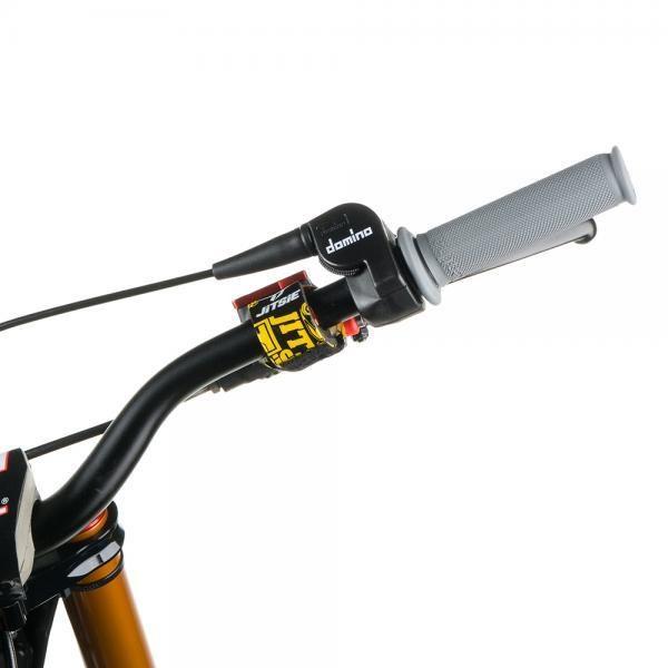 JITSIE Master cylinder beskytter - Sort/Gul-4408