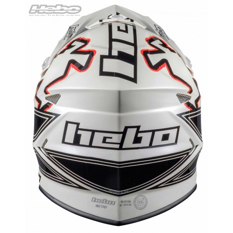 HEBO Hjelm - RAPTOR Fiber Sort-4934