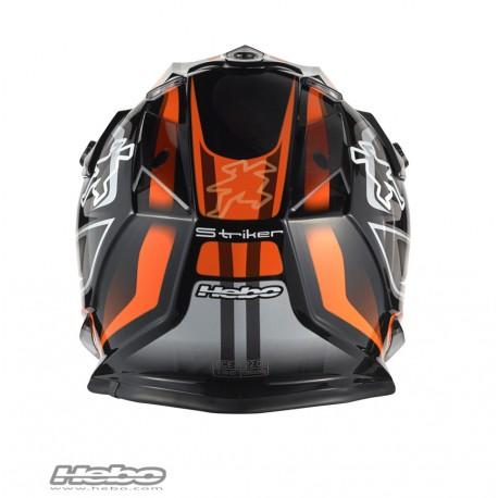 HEBO Hjelm KID - MX STRIKER Orange-4952